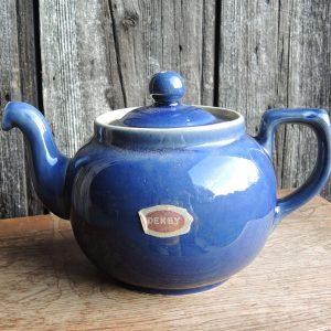 Théière Vintage En Grès DENBY Angleterre