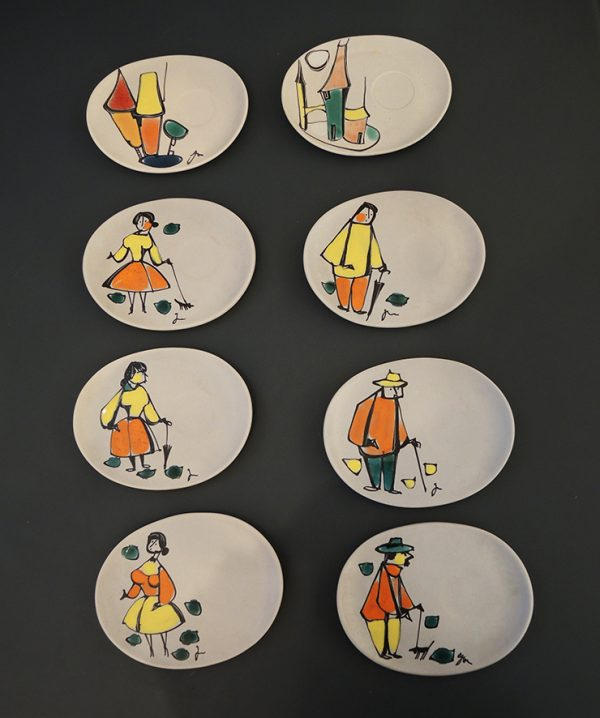 anciennes-assiettes-signees-en-ceramique-annees-50