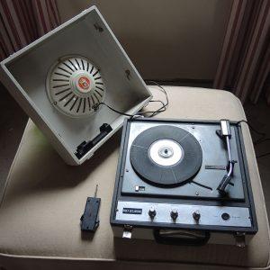 Tourne-Disque Electrophone Valise Vintage Ribet-Desjardins