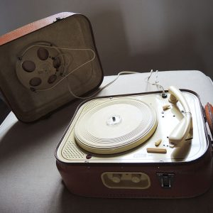 Tourne-Disque Electrophone Valise Vintage Eden 20