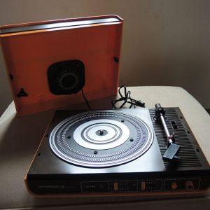 Tourne-Disque Electrophone Valise Vintage Pathe Marconi