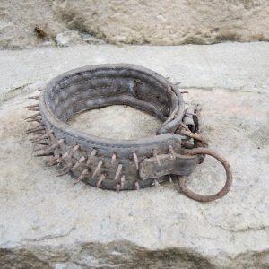 Collier de Chien Vintage Clouté