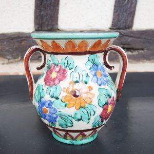 Petit Vase Vintage En Céramique Monaco