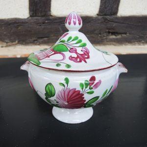 Bonbonnière Vintage En Céramique : K&G Lunéville