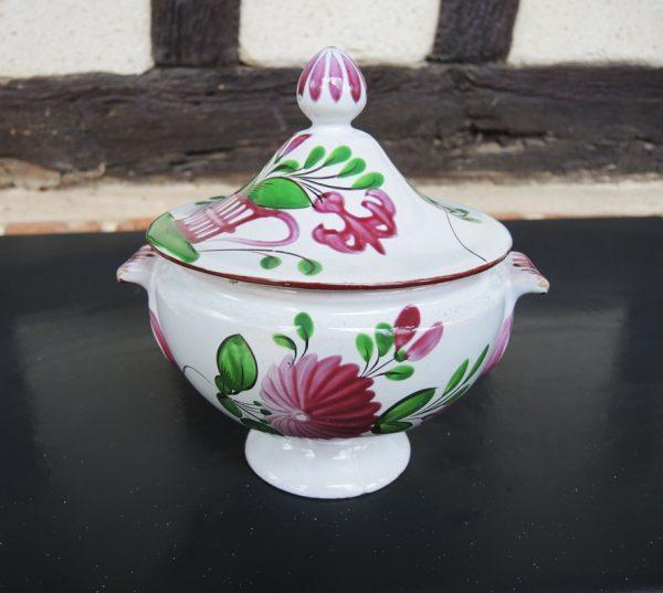 Ancien Drageoir En Céramique : K&G Lunéville