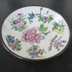 Mini Assiette Décorative Asiatique Vintage