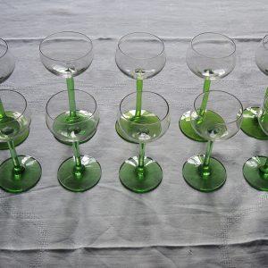 Verres à Vin Blanc d'Alsace Vintage