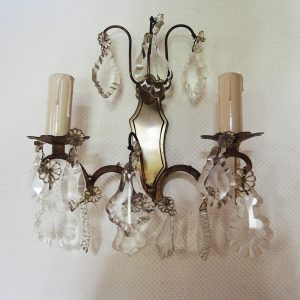 Applique Vintage Cristal Style Rocaille