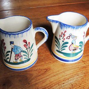 Pichets Vintage en Céramique de LISIEUX