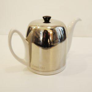 Ancienne Théière Isotherme : Porcelaine & Inox