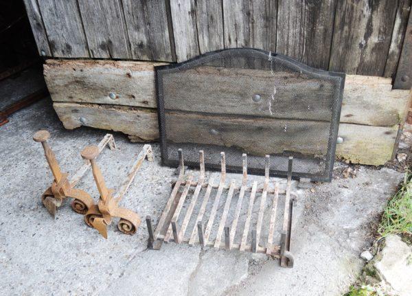 garniture-pour-cheminee-vintage