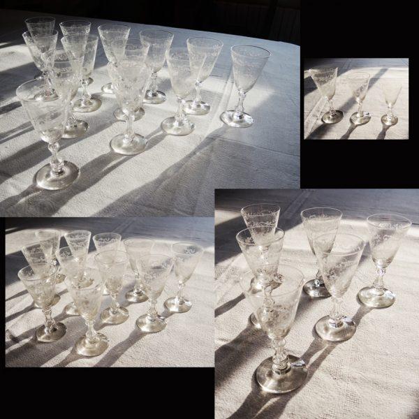 service-vintage-verres-a-pied-en-cristal-grave