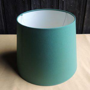 Ancien abat-jour Vert NEUF D30 cm