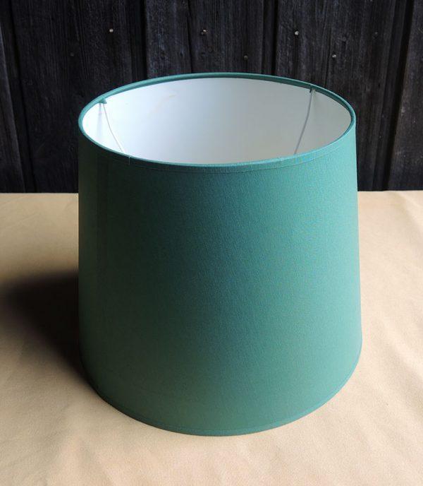 abat-jour-vintage-vert-neuf-d30-cm
