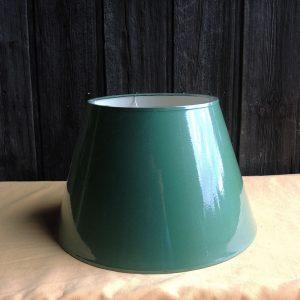 Ancien abat-Jour Vert Foncé D 40 Cm