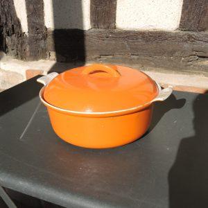 Ancienne Marmite Orange FE BELGIUM