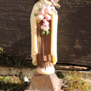Statuette Dévotionelle En Plastique : Thérèse De Lisieux