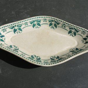 Ancien Ravier Céramique St Amand