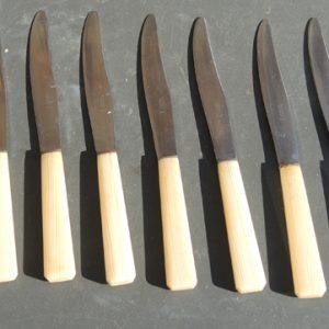 Anciens Couteaux à Table ROUSSEL DIEPPE