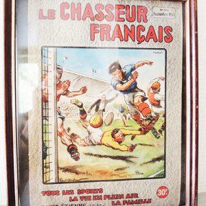 Ancienne Couverture « Chasseur Français » : No 655 (Sept 1951)