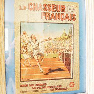 Couverture « Chasseur Français » No 616 (Oct-Nov 1947)