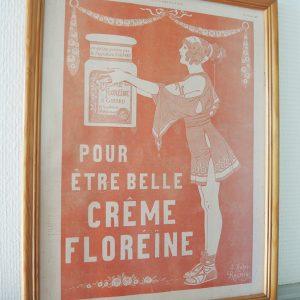 Publicité : CREME FLOREINE (Illustration No 4143)