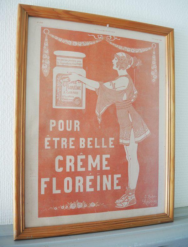 publicite-creme-floreine-illustration-no-4143