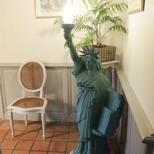 Lampadaire Vintage Statue De Liberté CAMINO