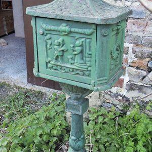 Boite Aux Lettres Vintage Style Art Nouveau En Fonte