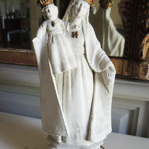 Statue Vintage De Notre Dame De Bonsecours
