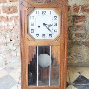 Carillon vintage en Bois Art Déco