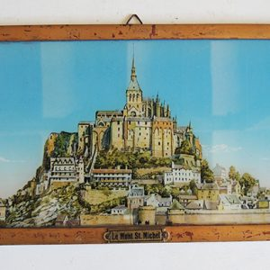 Chromo vintage Mont Saint Michel