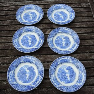6 Assiettes Creuses vintage ROYAL SPINX MAASTRICH