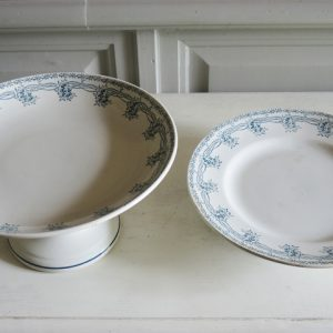 2 Comptiers Vintage en Céramique de Saint Amand