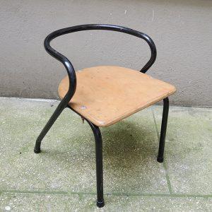 Chaise de Maternelle Vintage Style Mullca 300 de Jacques Hitier